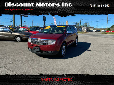 2008 Lincoln MKX for sale at Discount Motors Inc in Madison TN
