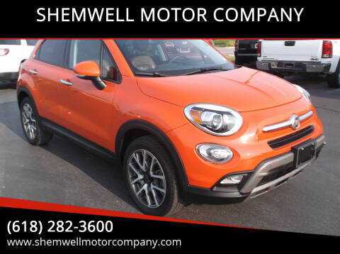 2016 FIAT 500X for sale at SHEMWELL MOTOR COMPANY in Red Bud IL