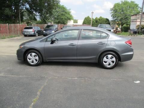 2013 Honda Civic for sale at KEY USED CARS LTD in Crystal Lake IL