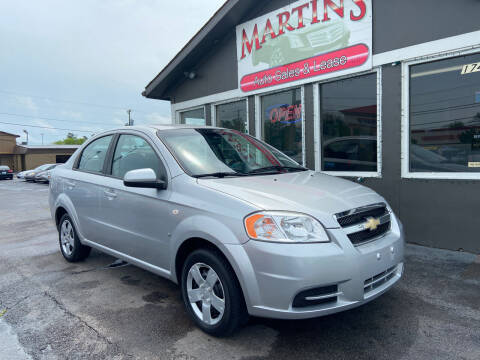 2008 Chevrolet Aveo for sale at Martins Auto Sales in Shelbyville KY