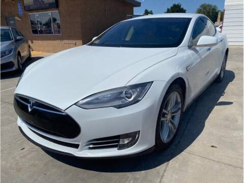 2013 Tesla Model S for sale at MADERA CAR CONNECTION in Madera CA