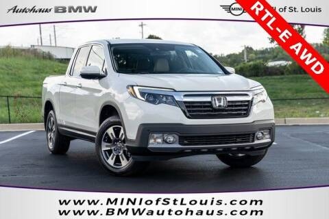 2018 Honda Ridgeline for sale at Autohaus Group of St. Louis MO - 40 Sunnen Drive Lot in Saint Louis MO