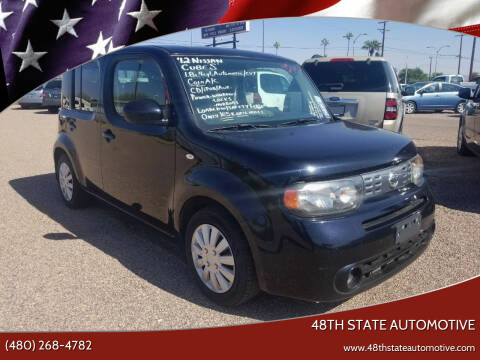 2012 Nissan cube for sale at 48TH STATE AUTOMOTIVE in Mesa AZ