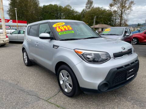 2014 Kia Soul for sale at Low Auto Sales in Sedro Woolley WA