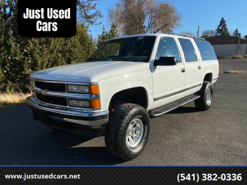 1999 Chevrolet Suburban for sale at Just Used Cars in Bend OR