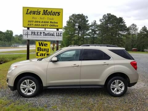 2011 Chevrolet Equinox for sale at Lewis Motors LLC in Deridder LA