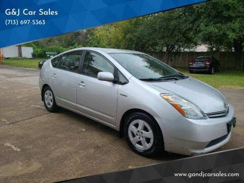 2008 Toyota Prius for sale at G&J Car Sales in Houston TX