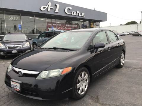 2008 Honda Civic for sale at A1 Carz, Inc in Sacramento CA