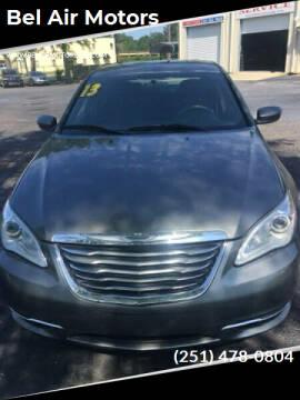 2013 Chrysler 200 for sale at Bel Air Motors in Mobile AL