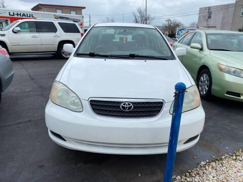 2005 Toyota Corolla for sale at Diamond Auto Sales in Pleasantville NJ