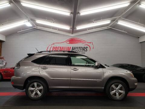 2005 Lexus RX 330 for sale at Premium Motors in Villa Park IL