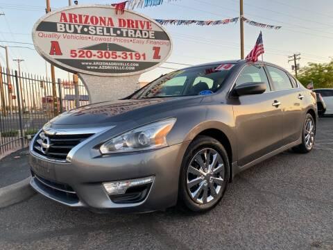 2014 Nissan Altima for sale at Arizona Drive LLC in Tucson AZ