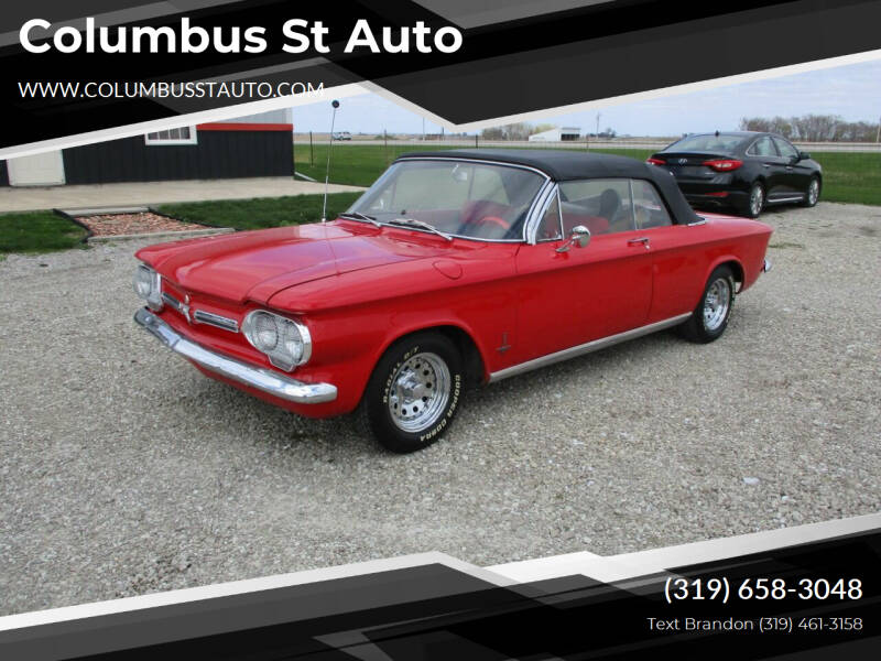 1962 Chevrolet Corvair for sale at Columbus St Auto in Crawfordsville IA