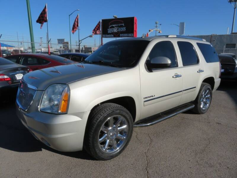 2013 GMC Yukon for sale at Moving Rides in El Paso TX