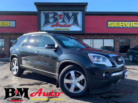 2011 GMC Acadia for sale at B & M Auto Sales Inc. in Oak Forest IL