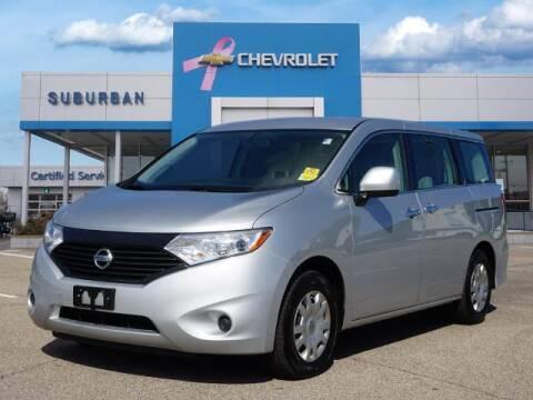 2015 Nissan Quest for sale at Suburban Chevrolet of Ann Arbor in Ann Arbor MI