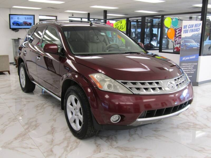 2007 Nissan Murano for sale at Dealer One Auto Credit in Oklahoma City OK
