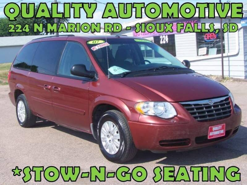 2007 Chrysler Town and Country for sale at Quality Automotive in Sioux Falls SD
