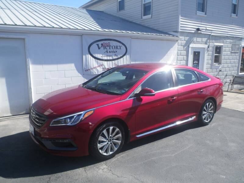 2015 Hyundai Sonata for sale at VICTORY AUTO in Lewistown PA