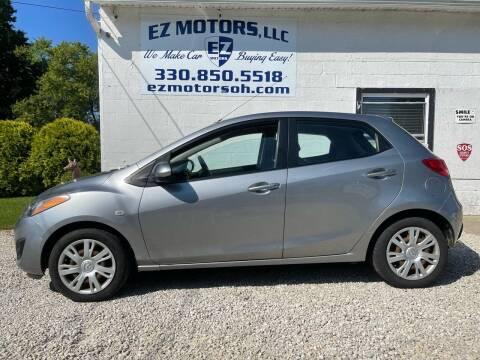 2012 Mazda MAZDA2 for sale at EZ Motors in Deerfield OH