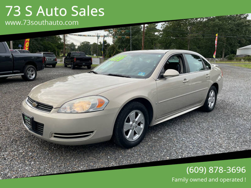 2009 Chevrolet Impala for sale at 73 S Auto Sales in Hammonton NJ