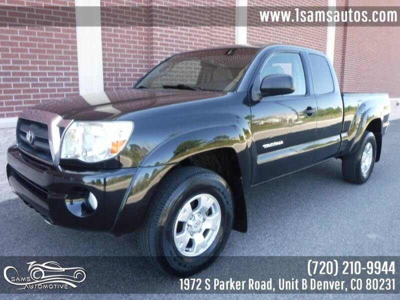 2006 Toyota Tacoma for sale at SAM'S AUTOMOTIVE in Denver CO