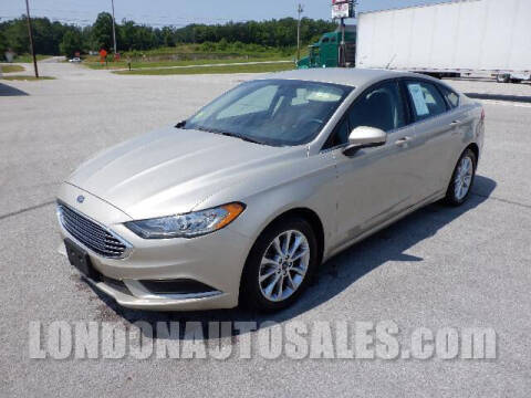 2017 Ford Fusion for sale at London Auto Sales LLC in London KY