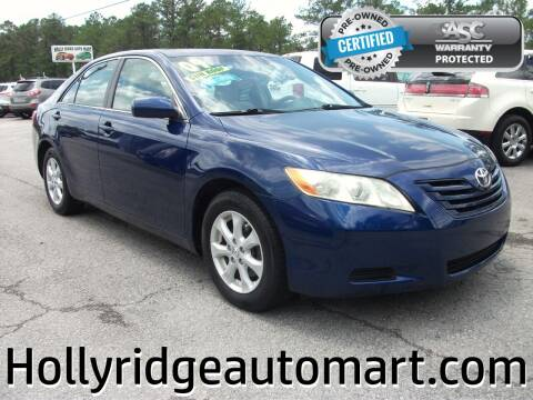 2009 Toyota Camry for sale at Holly Ridge Auto Mart in Holly Ridge NC