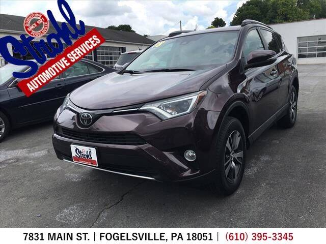 2018 Toyota RAV4 for sale at Strohl Automotive Services in Fogelsville PA