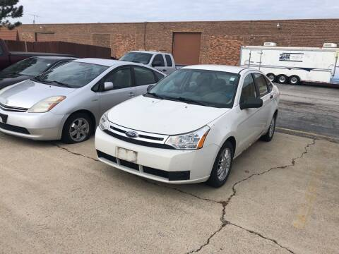 2010 Ford Focus for sale at Cargo Vans of Chicago LLC in Mokena IL