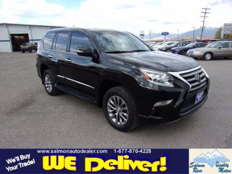 2015 Lexus GX 460 for sale at QUALITY MOTORS in Salmon ID