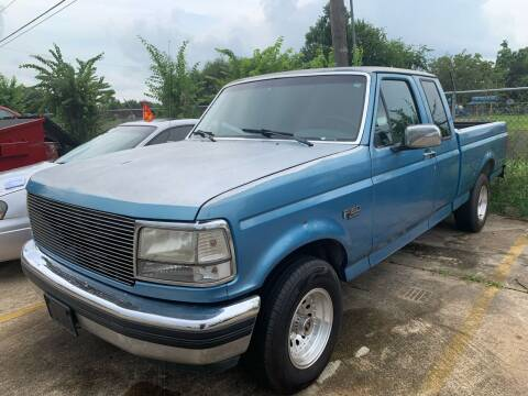 1993 Ford F-150 for sale at 1st Stop Auto in Houston TX
