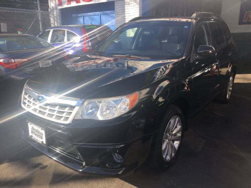 2011 Subaru Forester for sale at DEALS ON WHEELS in Newark NJ