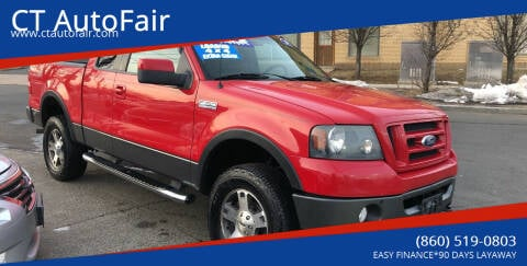 2007 Ford F-150 for sale at CT AutoFair in West Hartford CT