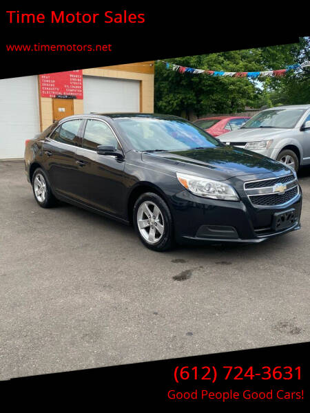 2013 Chevrolet Malibu for sale at Time Motor Sales in Minneapolis MN
