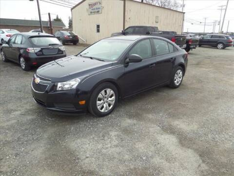 2014 Chevrolet Cruze for sale at Terrys Auto Sales in Somerset PA