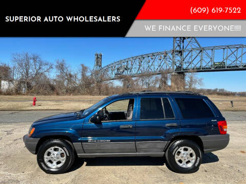 1999 Jeep Grand Cherokee for sale at Superior Auto Wholesalers in Burlington City NJ
