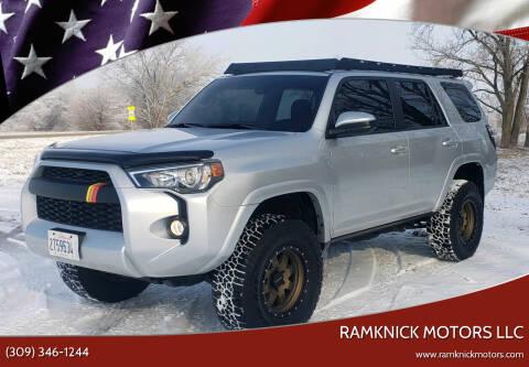 2019 Toyota 4Runner for sale at RamKnick Motors LLC in Pekin IL