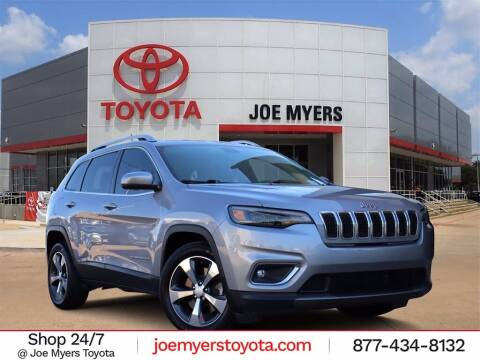 2019 Jeep Cherokee for sale at Joe Myers Toyota PreOwned in Houston TX