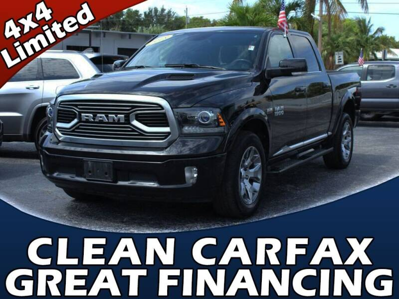 2018 RAM Ram Pickup 1500 for sale at Palm Beach Auto Wholesale in Lake Park FL