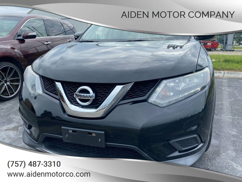 2015 Nissan Rogue for sale at Aiden Motor Company in Portsmouth VA