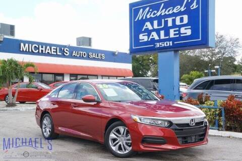 2020 Honda Accord for sale at Michael's Auto Sales Corp in Hollywood FL