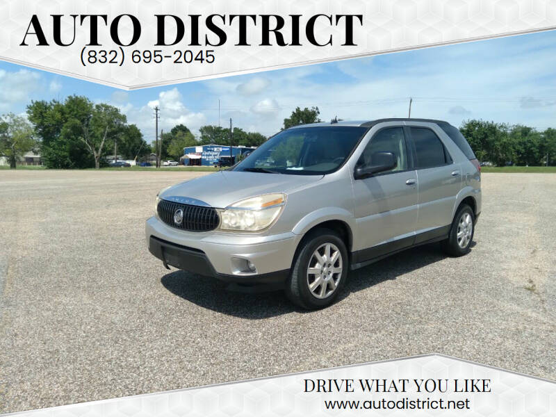 2006 Buick Rendezvous for sale at Auto District in Baytown TX