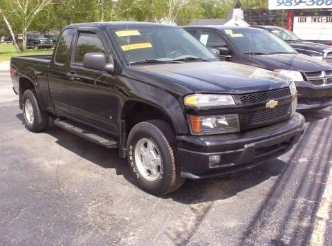 2006 Chevrolet Colorado for sale at LAKESIDE MOTORS LLC in Houghton Lake MI