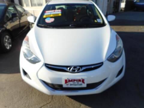 2013 Hyundai Elantra for sale at Empire Auto Sales in Modesto CA