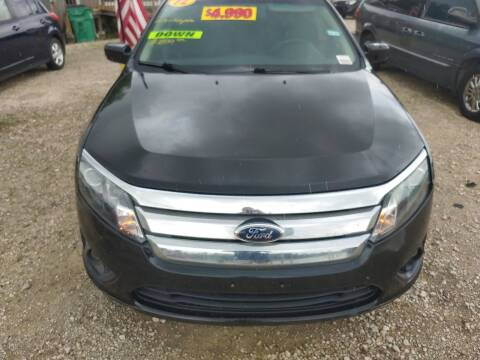 2012 Ford Fusion for sale at Finish Line Auto LLC in Luling LA