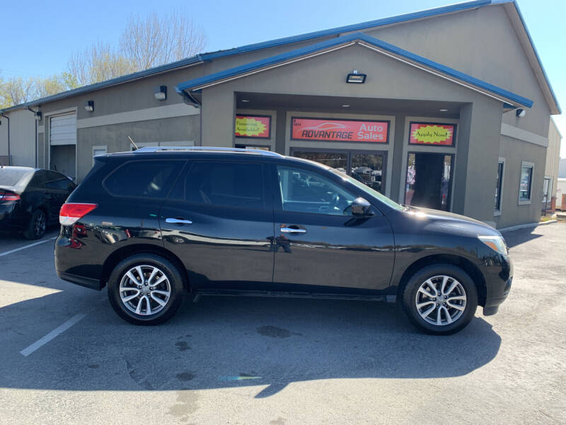 2014 Nissan Pathfinder for sale at Advantage Auto Sales in Garden City ID