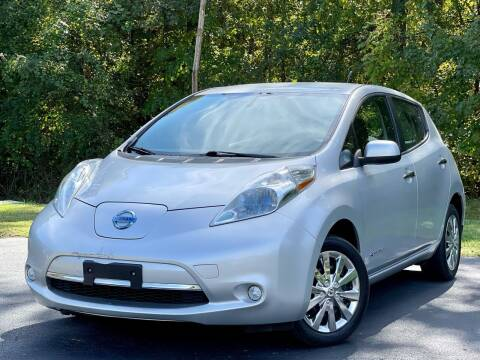 2013 Nissan LEAF for sale at Sebar Inc. in Greensboro NC