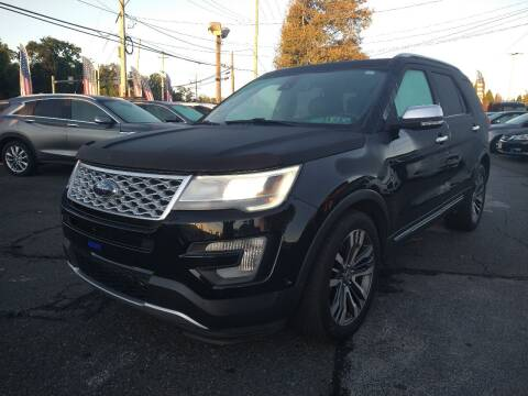 2017 Ford Explorer for sale at P J McCafferty Inc in Langhorne PA