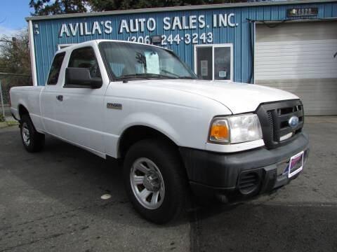 2008 Ford Ranger for sale at Avilas Auto Sales Inc in Burien WA